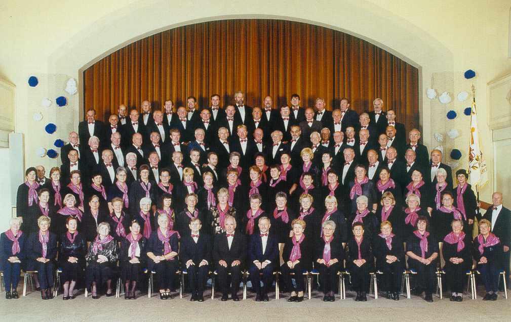 Der gemischte Chor zum 150jährigen Jubiläum 2001